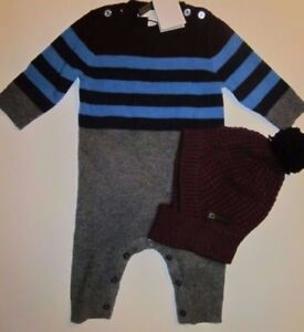 77f268a9d891 BURBERRY Baby Cashmere Gift Set INFANT BOYS ( 450) NWT 3 or 6 Months ...