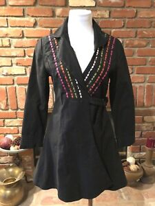NEEMAX-M-6-Black-Flirty-Flare-Versatile-Dress-Jacket