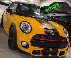 Mini F56 55 57 Front Grille Strip Cover Red Cooper S Jcw 2014