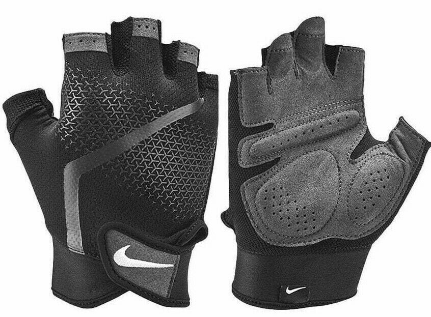 Nike Men's Adults Extreme Lightweight Fitness Gym Training Workout Gloves Black