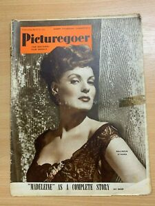 18-Mar-1950-Picturegoer-GB-Film-Revue-Maureen-O-039-Hara-avant-Housse
