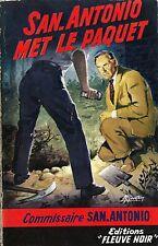 RARE EO 1959 SAN ANTONIO + SPÉCIAL POLICE N° 194 : SAN-ANTONIO MET LE PAQUET