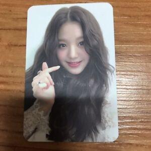Izone  IZ*ONE color*iz la vie en rose wonyoung Broadcasting Photocard Photo Card