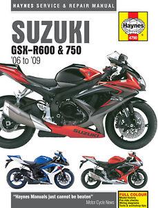 new haynes motorcycle workshop repair manual suzuki gsx r600 k gsx rh ebay ie 2017 Suzuki GSX S750 1981 Suzuki GSX 750