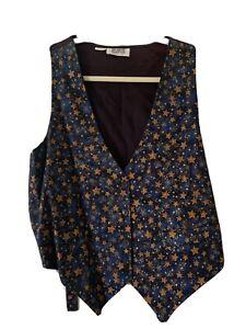 Sostanza-Vintage-Star-Vest-Women-s-S-M