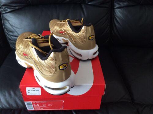 taglie 12 Nuovo sintonizzati Air 11 Max 8 Plus Nike Gold con Uk Tn 10 le 2017 9 pallini Tutte PTUqF8n