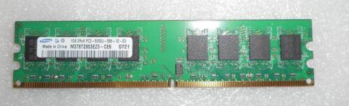 M378T2953EZ3-CE6 Lot Of 2 Samsung 2G 2 X 1GB 2Rx8 PC2-5300U-555-12-E3-DIMM