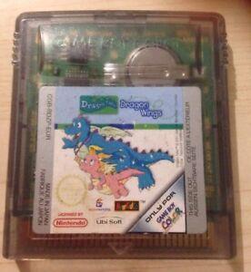 DRAGON-TALES-DRAGON-WINGS-Nintendo-Retro-GameBoy-Color-Game-Cartridge-GBC-GBA