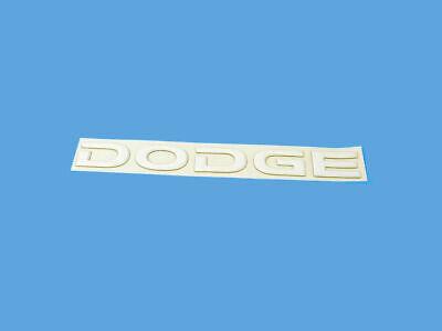 Dodge CHRYSLER OEM 08-10 Viper Rear Bumper-Decal sticker WN80GK3AC