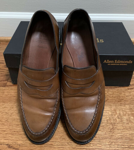 Allen Edmonds RANDOLPH 11.5 Penny Loafers