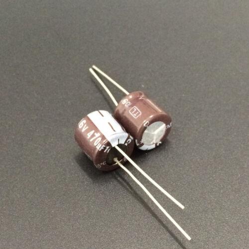 10pcs 470uF 16V JAMICON TL 10x10mm Low impedance 16V470uF capacitor