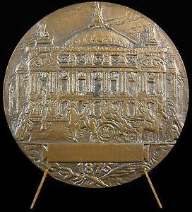 100% Vrai Médaille Charles Garnier Architecte Opéra Casino De Monte-carlo Fauconnier Medal 50% De RéDuction