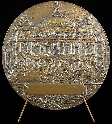 Deftig Médaille Charles Garnier Architecte Opéra Casino De Monte-carlo Fauconnier Medal