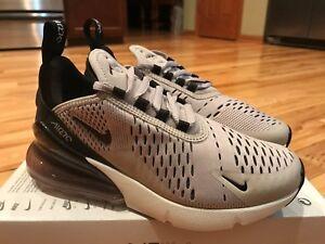 info for fdd43 1b0a3 La foto se está cargando Nike-Mujeres-Air-Max-270-Negro-de-particulas-