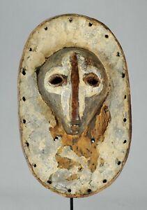 CONGO-Tres-Rare-Masque-SHI-Bashi-mask-Africain-Congo-LEGA-African-Tribal-Art