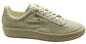 Puma Star Sneaker Uomo Scarpe Basse in Pelle Bianco Sporco Lacci 357763 02 u19