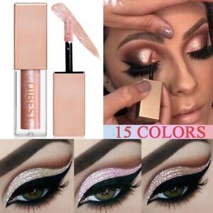 15-Colors-Glitter-Liquid-Eyeshadow-Waterproof-Lasting-Shimmer-Metallic-Makeup