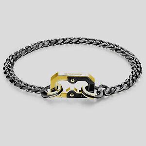 Brosway-Armband-034-K2-034-Herren-Damen-A-Kette-Poliert-Und-Brueniert-BKD12B-Neu