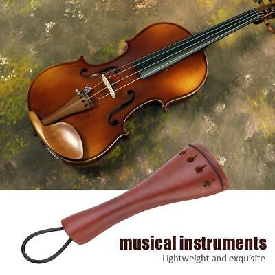 Jujubewood Violin Tailpiece 4//4 Size Fiddle Violin Parts New High Quality #4