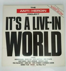 The-Anti-Heroin-Project-It-039-s-A-Live-In-World-1986-EMI-2-x-Vinyl-LP-AHP-LP