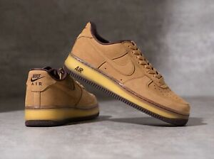 """Details about NIKE AIR FORCE 1 LOW """"WHEAT MOCHA"""" (DC7504-700) BRAND NEW US 11"""