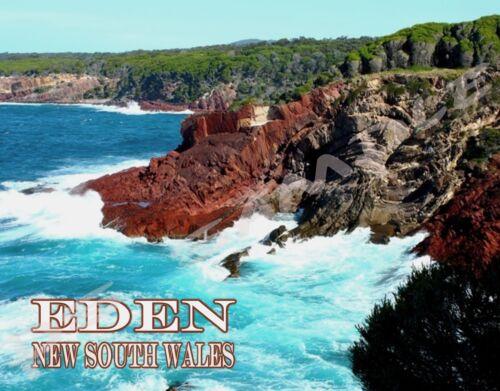 Travel Souvenir Flexible Fridge Magnet NSW Australia EDEN