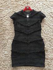 Chanel 08A Fantasy Tweed Dress   FR 50 UK 18 20