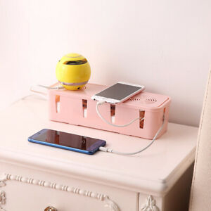Table-Cable-Power-Plug-Storage-Box-Case-Cord-Wire-Socket-Safety-Tidy-Organiser