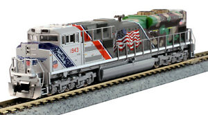 Kato-N-Scale-SD70ACe-Locomotive-Union-Pacific-UP-Spirit-1943-DCC-Ready-1761943