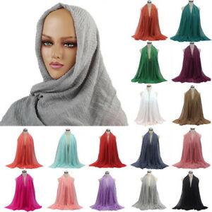 Women-Soft-Premium-Viscose-Maxi-Crinkle-Cloud-Hijab-Scarf-Islam-Muslim-Shawl-SH