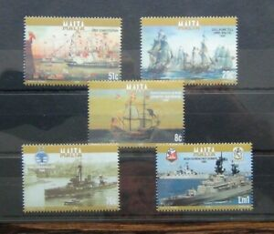 Malta 2006 Naval Vessels set MNH