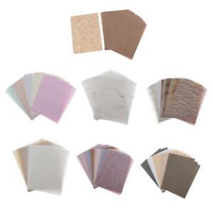 15-30pcs-Hintergrundpapier-Handgefertigt-fuer-Kartenherstellung-Schreiben