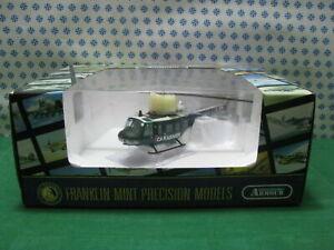 Vintage-ELICOTTERO-dei-CARABINIERI-UH-1-Huey-1-48-Franklin-Mint-B11E339-MIB