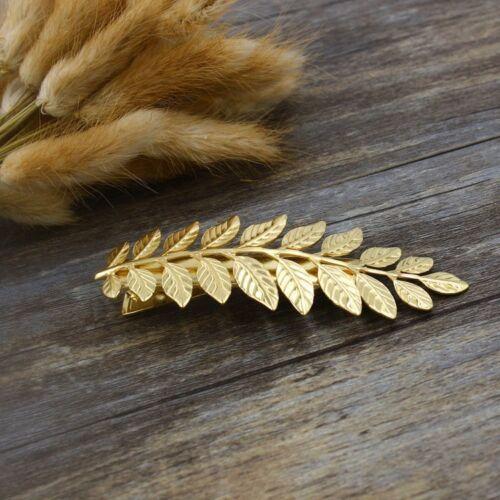 Leaf hair clip barrattes wedding hair accessories bridemaid hairclip US seller