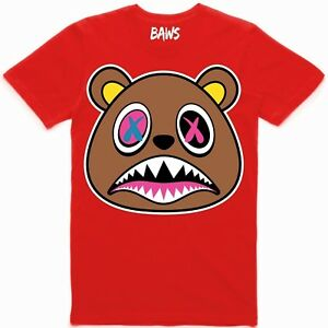 Baws-Red-Crazy-Baws-T-Shirt