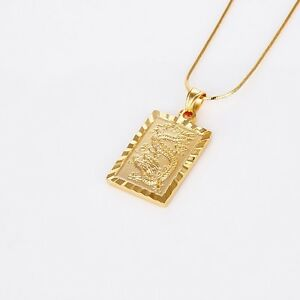 8a74911dddd Image is loading Amazing-18k-Yellow-Gold-Filled-Dragon-Pendant-Charms-