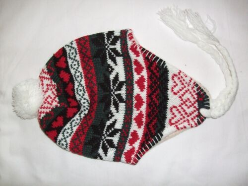 NEW Peruvian Hat Fully Lined One Size to about 10 years