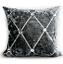 Cushion-cover-or-Filled-cushion-crush-velvet-shaggy-Mustard-silver-NEW-17-034-x-17-034 thumbnail 25