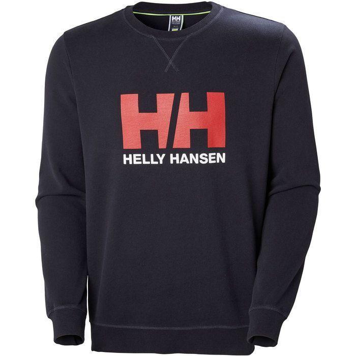 Helly hansen HH LOGO CREW SWEAT NAVY US MENS SIZES 34000-597