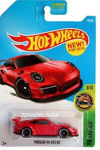 2016 hot wheels 78 hw exotics porsche 911 gt3 rs red ebay. Black Bedroom Furniture Sets. Home Design Ideas