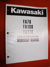 item 2 kawasaki 4 stroke air cooled gas engine factory service manual fa76  fa130 fa210 -kawasaki 4 stroke air cooled gas engine factory service manual  fa76