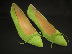 Robert Clergerie Ladies Lime Green