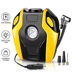 150psi 12v Digital Portable Electric Air Compressor Pump Tyre