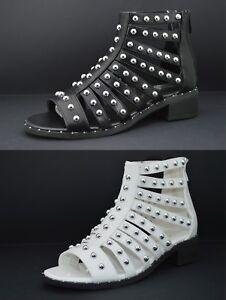bajo verano de bajas de de de Zapatos mujer Sandalias Botas tacón esclavo xBorQWCde