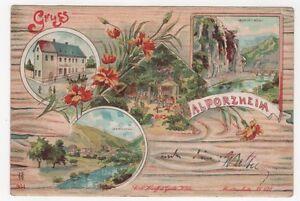 3-242-AK-ALPORZHEIM-nach-TREUGEBOHLA-ZABELTITZ-GROssENHAIN-BAHNWARTER-16-01-1907