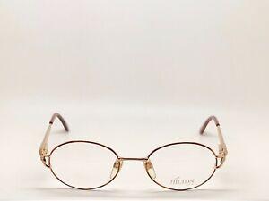 Vintage-Hilton-Montecarlo-351-Oval-Eyeglasses-Optical-Frame-Lunettes-Brille-52mm