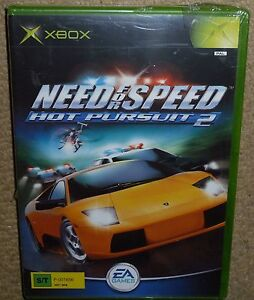 Need For Speed Hot Pursuit 2 Microsoft Xbox Original Brand New