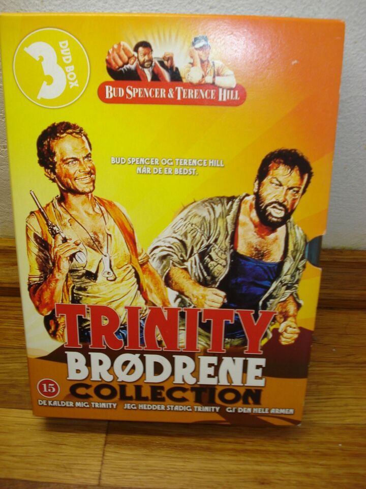 Trinity brødrene Collection, DVD, western