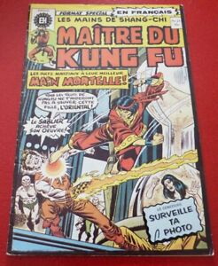 Soft-Cover-French-Heritage-Comic-Maitre-du-Kung-Fu-No-21
