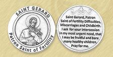 St. Gerard Patron of Motherhood Holy Prayer Coin Catholic Token